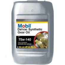 ÓLEO MOBIL DELVAC SYNTHETIC GEAR OIL 75W-140 - BALDE 20 LITROS